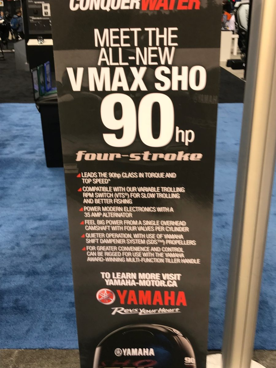 All New VMAX SHO 90hp four stoke